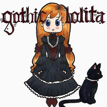 Gothic Lolita by riannajaye