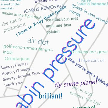 Cabin pressure quote collage. by CharlotteTardis