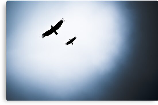 In Flight Formation by Charles Plant