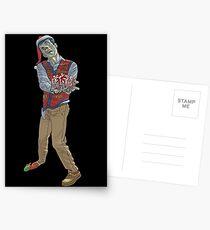 Christmas Zombie Postcards
