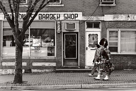 Music - Bag piper - Somerville, NJ -  The Scottsman by Michael Savad