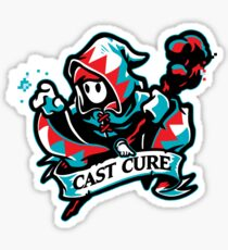 Cast Cure! Sticker