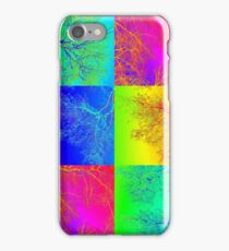 Trees in South Australia - an andy warhol patchwork effect iPhone Case/Skin