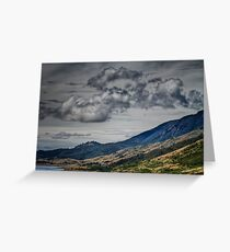 Clouds brewing Greeting Card