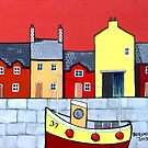 Yellow Boat House by bursnall