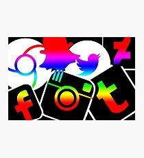 Social Network Photographic Print