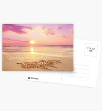Remembering Her With You Always Postcards