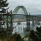 Yaquina Bay Bridge, Newport, Oregon by Tomas Abreu