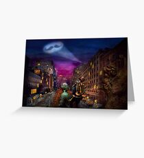 Steampunk - The Great Mustachio Greeting Card