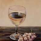Muscadines and Wine by Bobbi Price