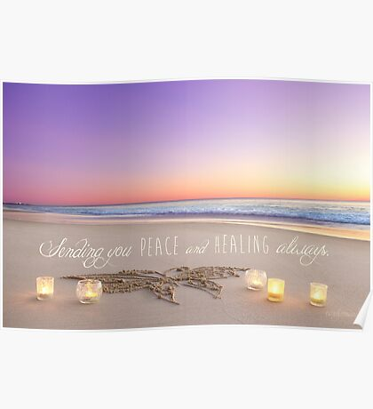 Healing and Peace Poster