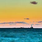 Chicago Harbor Light by Steve Ivanov