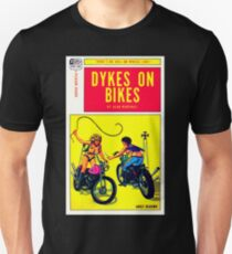 """Dykes On Bikes"" Unisex T-Shirt"