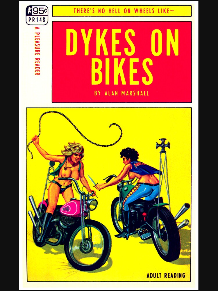 """""""Dykes On Bikes"""" by michellelee"""