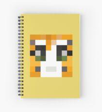 Stampy Minecraft skin Spiral Notebook