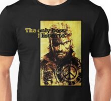 MGS The only boss Unisex T-Shirt