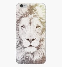 The Intellectual Lion iPhone Case