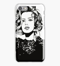 lace girl iPhone Case/Skin