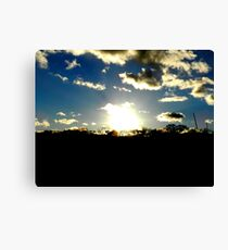 Long Island sunset 2 Canvas Print