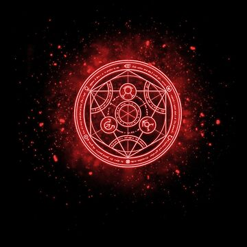 Human transmutation circle Fullmetal Alchemist  by LAZARE-TENDO
