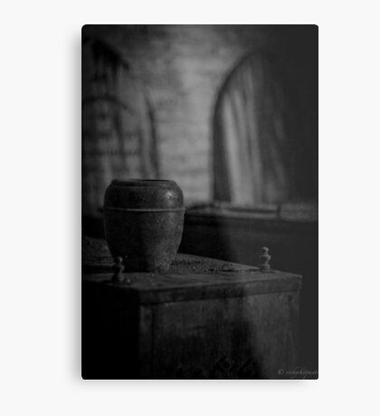 Urn Metal Print