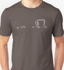 coffee cup chalk Unisex T-Shirt