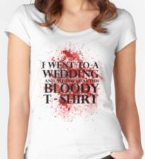 Game of Thrones - Red Wedding T-shirt Women's Fitted Scoop T-Shirt