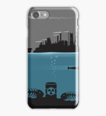 Ecology pollution iPhone Case/Skin