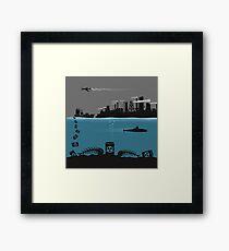 Ecology pollution Framed Print