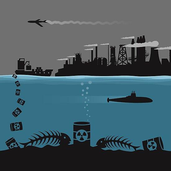 Ecology pollution by Aleksander1