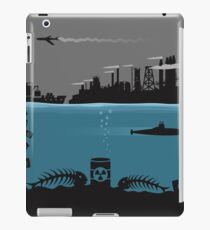 Ecology pollution iPad Case/Skin
