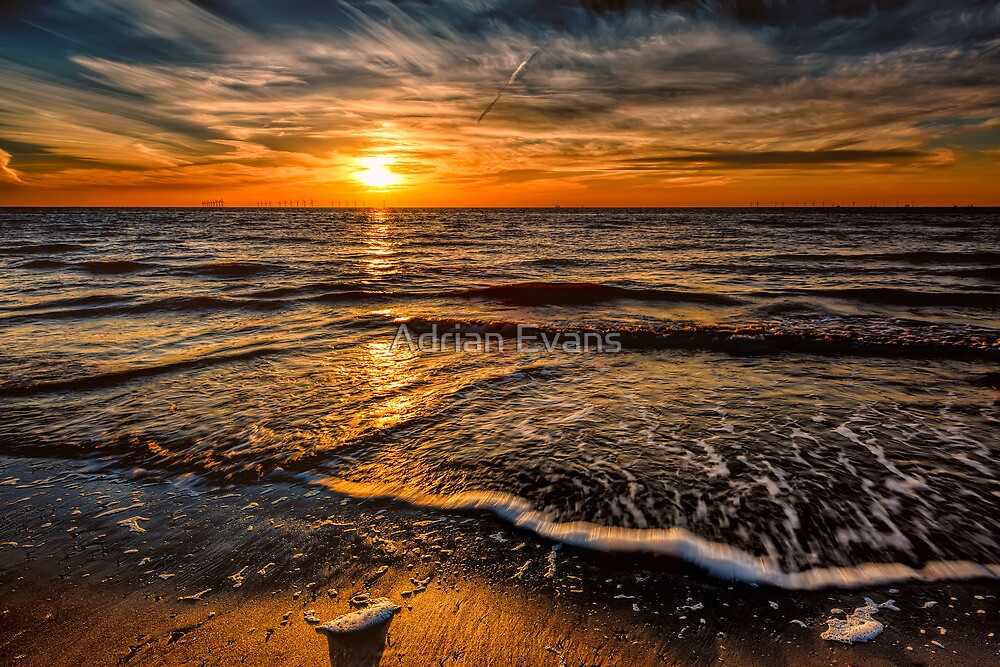 The Sunset by Adrian Evans