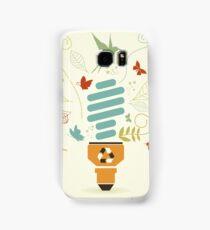 Energy saving bulb Samsung Galaxy Case/Skin