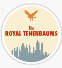 The Royal Tenenbaums - Sticker Sticker