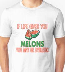 Melon Dyslexia Unisex T-Shirt