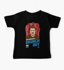 Ron Swanson's BrunchOut Baby Tee