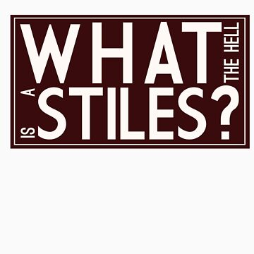 what the hell is a stiles? by piskepo