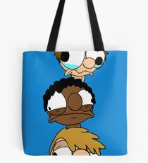 The Soul Gazers Head Tower Poster Tote Bag