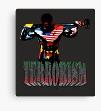 smash terrorism Canvas Print