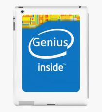 Genius inside iPad Case/Skin