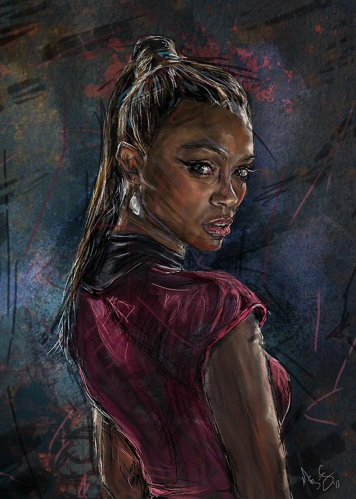 Uhura by Megan Cary