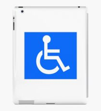 Disabled Access Symbol iPad Case/Skin