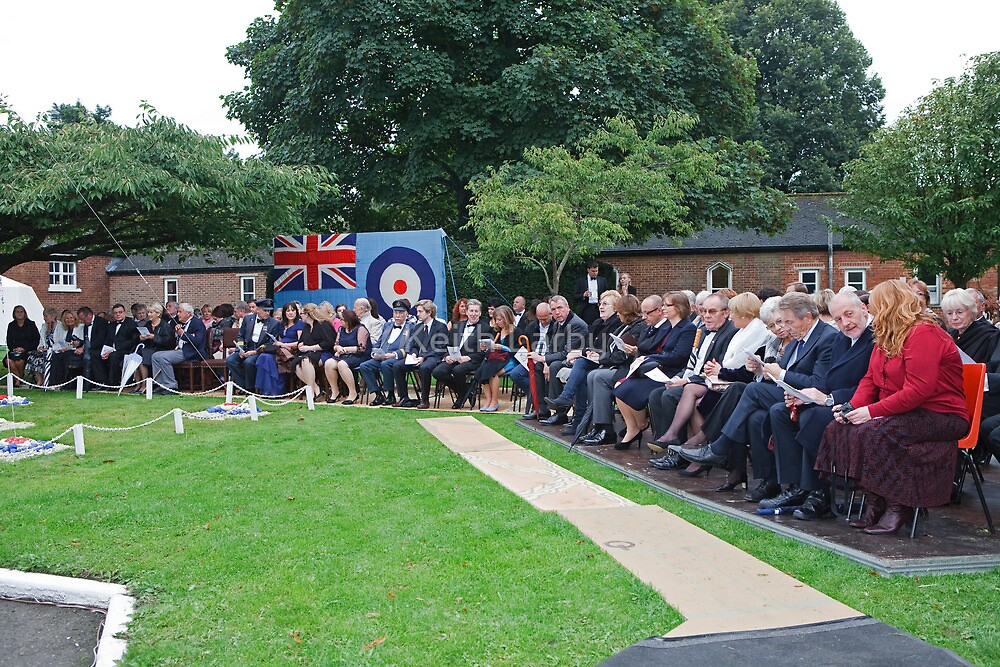 2427 Biggin Hill Squadron  Sun Set Ceremony by Keith Larby