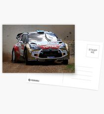Miko Hirvonen - FIA World Rally Championship Australia 15.09.2013 Postcards