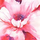 Large pink poppy by Ruth S Harris