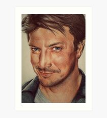 Richard Castle Art Print