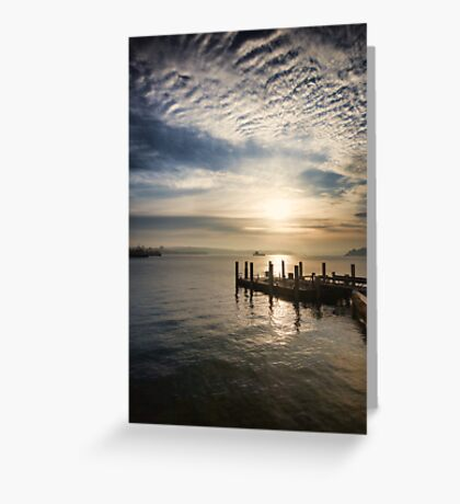 Early Morning Serenity Greeting Card