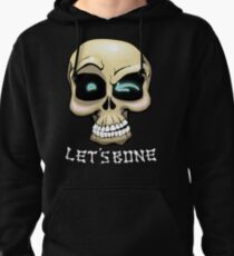 Let's Bone - Naughty Skull Halloween Pullover Hoodie