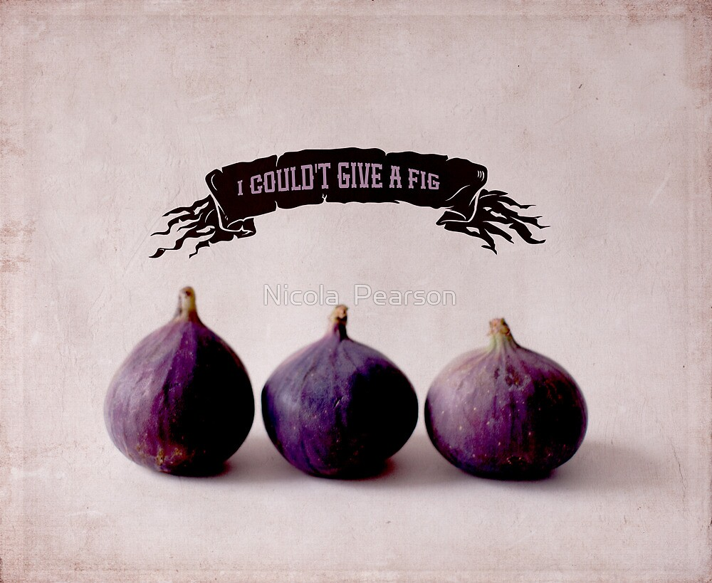 I couldn't give a Fig by Nicola  Pearson