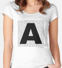 A-Maze-ing Women's Fitted Scoop T-Shirt